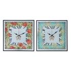 """Часы настенные, серия: Цветы, """"Пионы"""", 37х37х3 см, микс"""