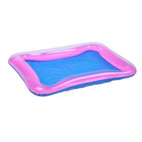 Надувная песочница для песка 60 х 45 см, цвет розовый Ош