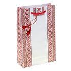 """Пакет подарочный """"Ручная вышивка"""" 16,5х26,5х6,6 см"""