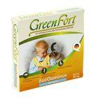 Биоошейник GreenFort от блох для кошек, 35 см
