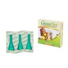 Биокапли GreenFort от блох для мелких собак 3 х 1 мл