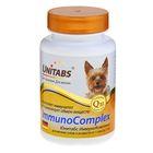 """Витамины """"Юнитабс. ImmunoComplex"""" для мелких собак, 100 таб"""