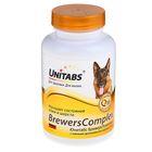 """Витамины """"Юнитабс. BreversComplex"""" с пивными дрожжами для крупных собак, 100 таб"""