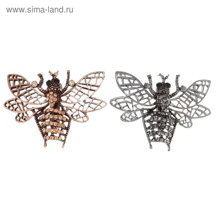 """Брошь """"Пчела"""", цвет МИКС"""