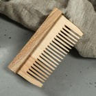 """Расчёска деревянная прямоугольная """"Эко"""""""
