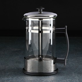 French press 600 ml RITS, color black