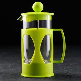 """French press 350ml, """"Oliver"""", color: green"""