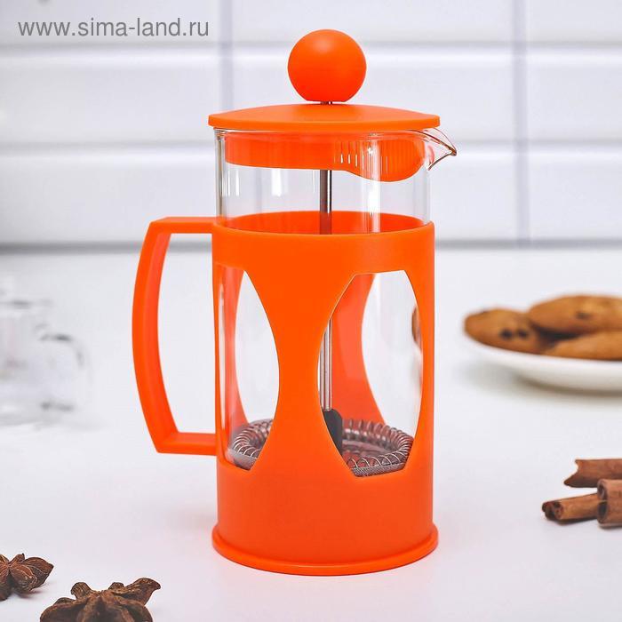 "French press 350ml, ""Oliver"", color: orange"