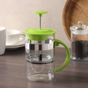 """The plunger 800 ml """"Garson"""", color green"""