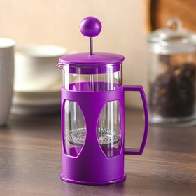 """French press 350ml, """"Oliver"""", color: purple"""