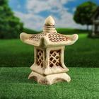 """Садовый светильник """"Китайский домик"""" малый, шамот"""