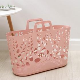 Корзина-сумка для хранения, 54×16×39 см, цвет МИКС