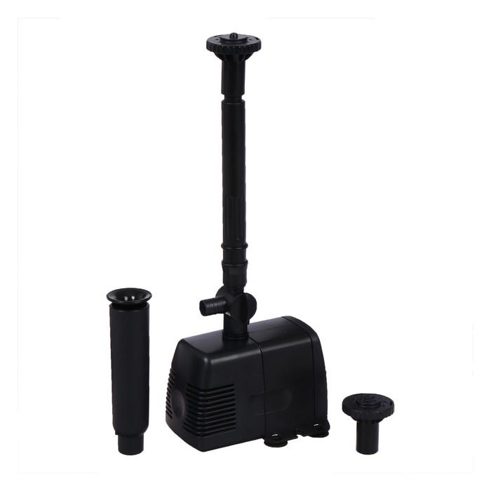 Фонтан для садового водоёма HJ-1143, 22 Вт, h = 1.6 м, 1000 л/ч, шнур 5 м - фото 1603708