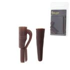 Safe clip with a cone Mini Brown (set of 5 PCs)