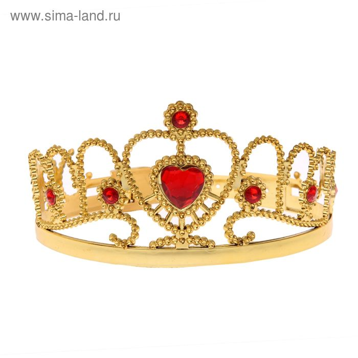 "Crown ""Charmer"" with stones"