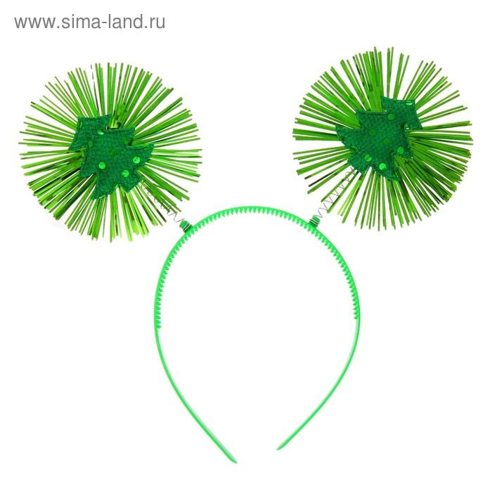 """Carnival headband """"Bright Christmas tree"""""""