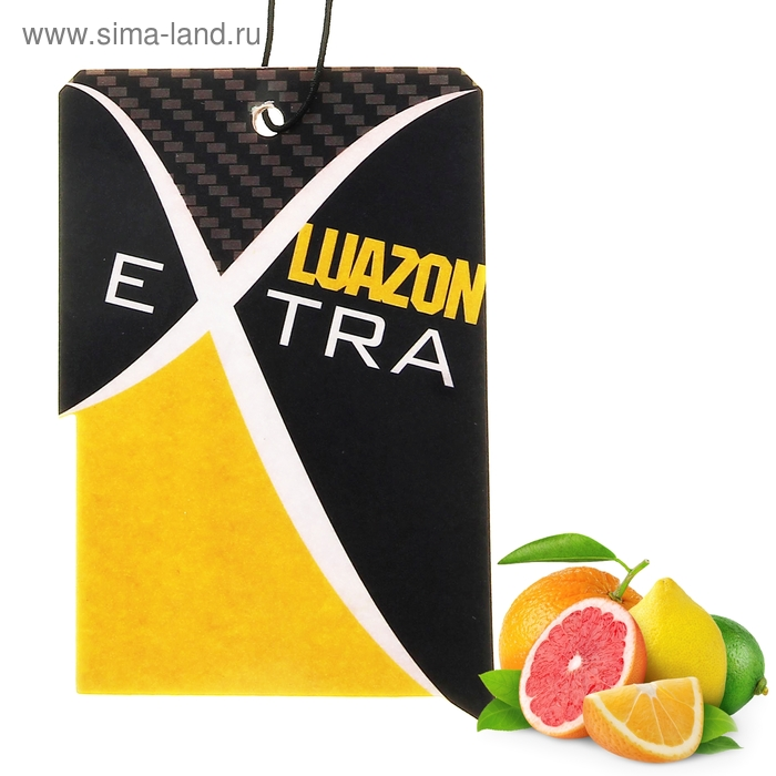 """Ароматизатор для авто """"Luazon Extra"""", сила и страсть"""