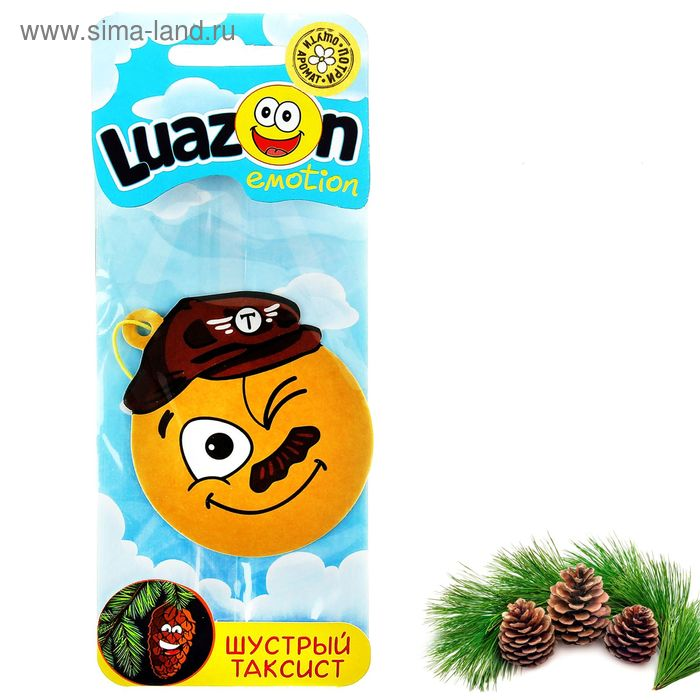 """Ароматизатор для авто """"Luazon Emotion"""", сосновый лес"""