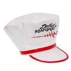 "Карнавальная шляпа медсестры ""Давай полечимся?"", р-р. 56-58, цвет белый"