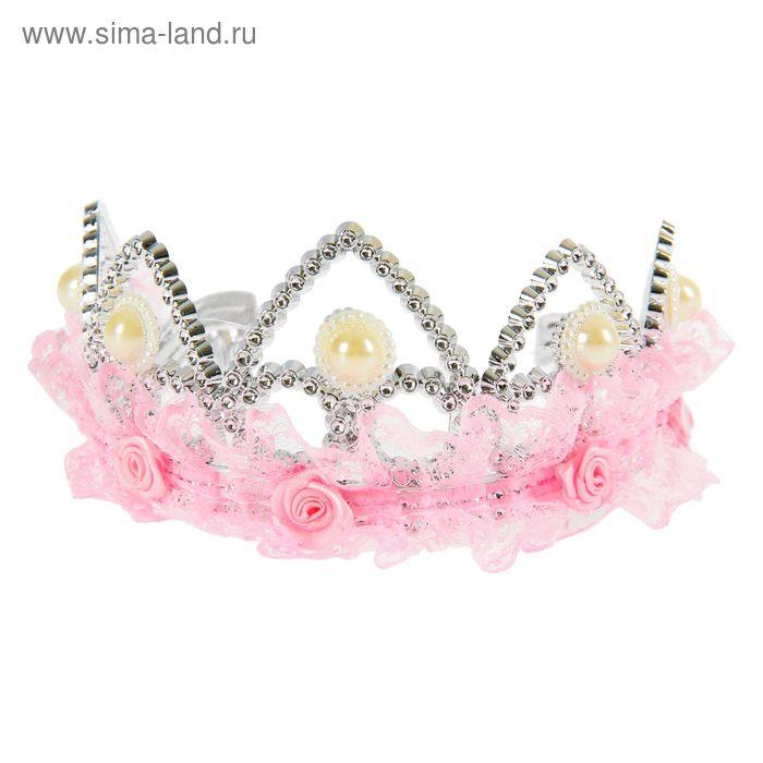 "Корона с кружевами ""Принцесса"""