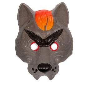 Карнавальная маска «Серый волк», на резинке в Донецке