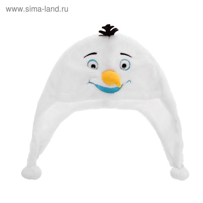 """Карнавальная шляпа """"Снеговик"""""""