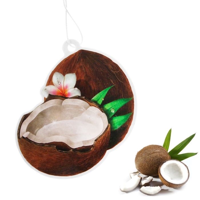 "Ароматизатор для авто ""Luazon Fruit Passion"", пленяющий кокос"