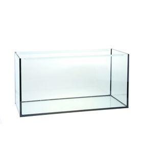 Аквариум прямоугольный без крышки, 100 литров, 75,5 х 33 х 39,5 см