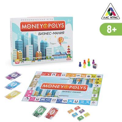 Настольная экономическая игра «Бизнес-мания. Путь к успеху»