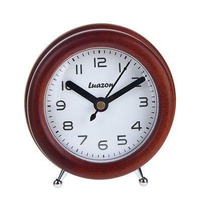 """Часы настольные """"Который час"""", сосна, d=10 см"""