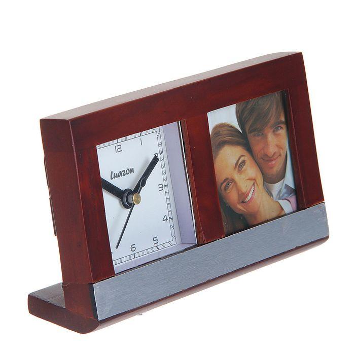 часы с рамками для фотографий настольные будем моделировать пришивать