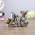 """Souvenir - miniature """"Two sparrows Life"""""""