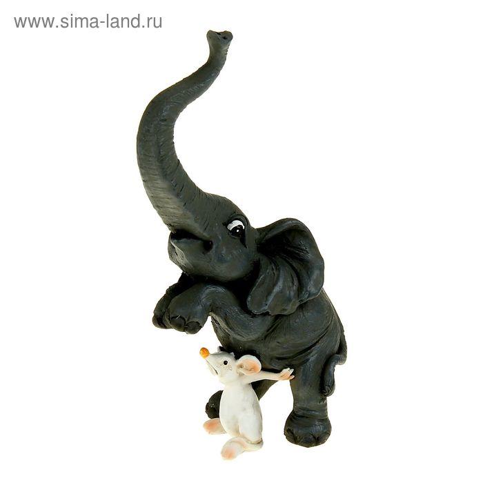 "Сувенир - миниатюра ""Слон и мышь"""