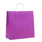"""Пакет крафт """"Радуга"""" фиолетовый, 32 х 12 х 32 см"""
