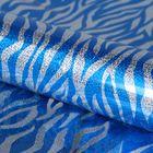"Film holography ""Pattern"", blue, 70 x 100 cm"
