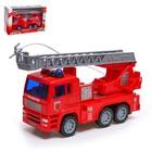 Машина инерционная «Пожарная», световые и звуковые эффекты, стреляет водой, МИКС - фото 76293384