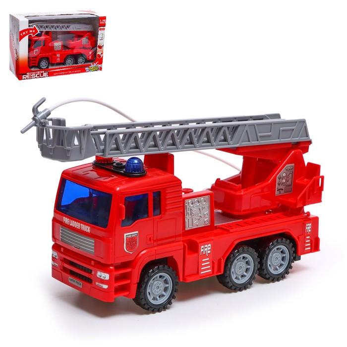 Машина инерционная «Пожарная», световые и звуковые эффекты, стреляет водой, МИКС