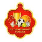 """Медаль """"За спортивные успехи"""", спортивный инвентарь"""