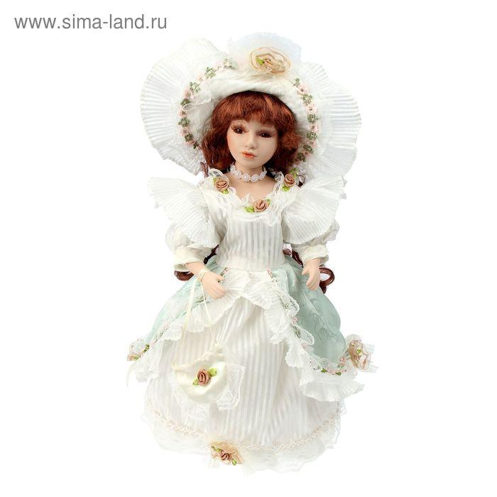 """Кукла коллекционная """"Стелла в белом платье"""""""