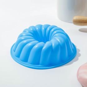 """Форма для выпечки """"Немецкий кекс. Заварное печенье"""" 12х2,5 см, цвета МИКС"""