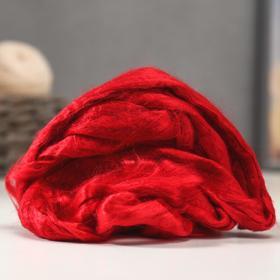 Felting tape (0042, red) 50 g.