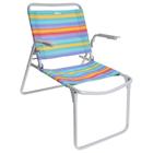 Кресло-шезлонг складное К1, 73 x 57 x 64 см, цвет радуга - фото 276344921