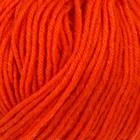 """Пряжа """"Кроха"""" 20% шерсть, 80% акрил 135м/50гр (0493, ярко-оранжевый)"""