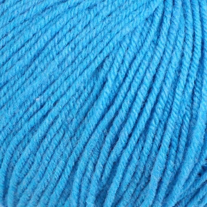 """Пряжа """"Кроха"""" 20% шерсть, 80% акрил 135м/50гр (0300, светло-голубой)"""