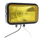 Противотуманная фара 15х9 см, IP65, 12В, стекло жёлтое