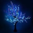 "Светодиодное дерево улич. 1,8 м, ""Сакура"", пластик, 220V, 45 Ватт RGB"