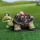 """Садовая фигура """"Улыбающаяся черепаха"""""""
