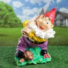 """Садовая фигура """"Гном с топором"""", разноцветная, 46 см, микс"""