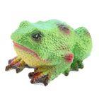 """Садовая фигура """"Салатовая жаба"""" средняя"""