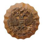 Герб круглый, бронза